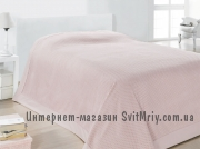 Покрывало хлопковое 160x240 Issimo Home MIXTO ROSE COLOR(PEMBE) 100% хлопок